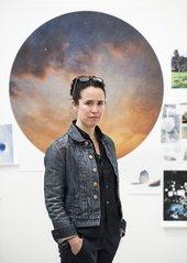an image of Sarah Sze standing