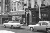 Photograph of the façade of Kasmin Gallery, 1971–2