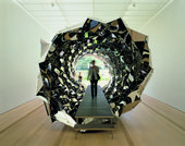Photograph of Olafur Eliasson's artwork Your spiral view 2002