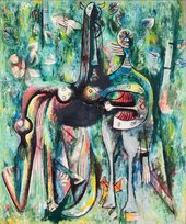 Wifredo Lam The Sombre Malembo, God of the Crossroads 1943 Private collection (The Rudman Trust) © SDO Wifredo Lam