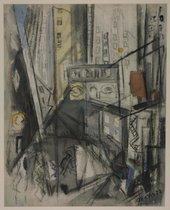 Fig.2 John Marin, Downtown, New York 1923