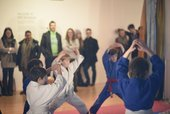 Martial ART with Edge Hill University and Wirral Judo Club. Photo © Jessica Fairclough