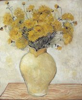 Christopher Wood Yellow Chrysanthemums 1925 Private Collection