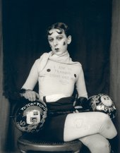 Claude Cahun self portrait c.1927 courtesy Jersey Heritage collections