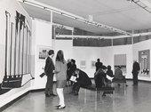 Installation view of the exhibition Roy Lichtenstein, Tate Gallery, London, 1968