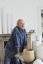 Photograph of Jack in his studio