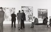 Installation view of the exhibition Willem de Kooning, Tate Gallery, London, 1968–9