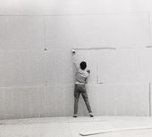 Installation view of the exhibition Larry Bell/Robert Irwin/Doug Wheeler, Tate Gallery, London, 1970