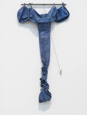 Claes Oldenburg, Soft Drainpipe – Blue (Cool) Version 1967