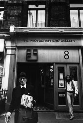 Dorothy Bohm, The facade of The Photographers' Gallery, London 1971