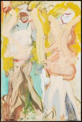 Fig.4 Willem de Kooning, Women Singing II 1966