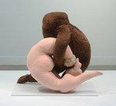 Image of Dorothea Tanning's soft sculpture Étreinte 1969