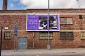 photograph of Tate Collective billboard with photograph responses