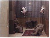 Image of Dorothea Tanning's artwork Hôtel du Pavot, Chambre 202, 1970-1973