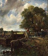 John Constable The Lock 1824