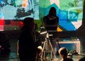 Kids activites anf video projector
