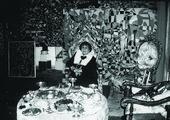 Zeid in her home, Amman,1991