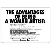 Image of Guerilla Girls poster available from Tate's shop