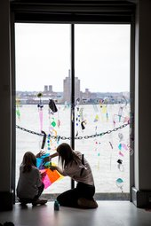 Photograph of a family event at Tate Liverpool