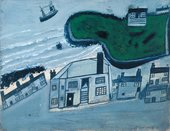 Alfred Wallis 'The Hold House Port Mear Square Island Port Mear Beach'