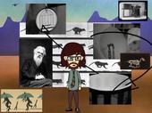 Laws of Motion in Cartoon Landscape, film still, 2011-2016