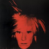 Andy Warhol Self-Portrait 1986. Tate Presented by Janet Wolfson de Botton 1996