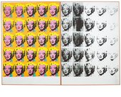 Andy Warhol, Marilyn Diptych, 1962, acrylic paint on canvas, 205.4 x 289.6 cm