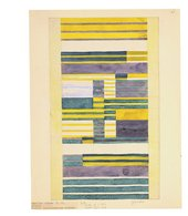 Anni Albers, design for a wallhanging, 1925, gouache on paper, 33.5 x 26.5 cm - The Museum of Modern Art, New York