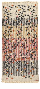 Anni Albers, Dotted, 1959, wool, 60.3 x 27.9 cm - Museum of Fine Arts Boston