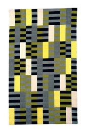 Anni Albers Black White Yellow 1926, re-woven 1965 Lent by The Metropolitan Museum of Art, Purchase, Everfast Fabrics Inc. and Edward C. Moore Jr. Gift, 1969  (69.134) © Estate of Anni Albers; ARS, NY & DACS, London 2018