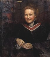 Annie Louisa Swynnerton Dame Millicent Fawcett, C.B.E., LL.D, Exhibited 1930. Tate collection, presented by the Trustees of the Chantrey Bequest 1930.
