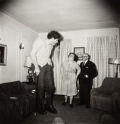 Diane Arbus, Jewish Giant at Home with his Parents in the Bronx, N.Y. 1970 1970 The Estate of Diane Arbus LLC