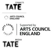 Logos for Tate and the Arts Council England