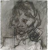 Frank Auerbach Head of Catherine Lampert II1985