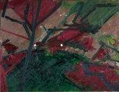 Frank Auerbach Winter Evening, Primrose Hill Study1974–5