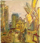 Frank Auerbach Mornington Crescent Looking South 1996