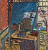 Frank Auerbach In the Studio IV 2013–4