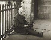 August Sander, Beggar 1926, printed 1990