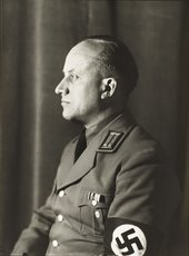 August Sander, National Socialist, Head of Department of Culture, c.1938