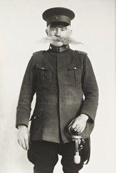 August Sander, Police Officer 1925, printed 1990