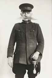 August Sander, Police Officer 1925, printed 1990