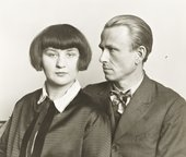 August Sander, The Painter Otto Dix and his Wife Martha 1925-6, printed 1991