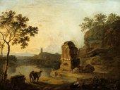 Richard Wilson,Strada Nomentana,c.1765–70