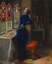 John Everett Millais,Mariana,1851