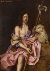 Jacob Huysmans James Duke of Monmouth, as St John the Baptist c1662–5