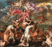 Antonio Verrio The Sea Triumph of Charles II c.1674 The Royal Collection Trust/© Her Majesty Queen Elizabeth II 2019