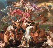 Antonio Verrio The Sea Triumph of Charles II c.1674 The Royal Collection Trust/© Her Majesty Queen Elizabeth II 2019