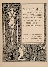Title page from Salome published by Mathews and Lane in 1894