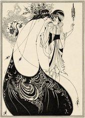 Aubrey Beardsley The Peacock Skirt 1893