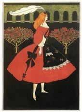 Aubrey Beardsley The Slippers of Cinderella 1894